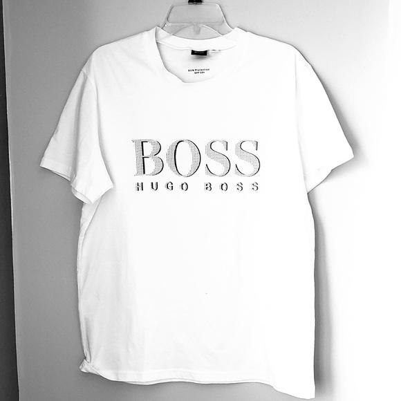 653ad00ab Hugo Boss Shirts   Crewneck Mens Graphic Tee Xl   Poshmark